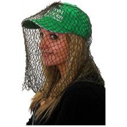 Fly veil head net for flies