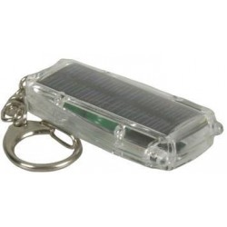 Solar Powered Keyring Torch