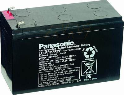12V solar battery for portable solar light