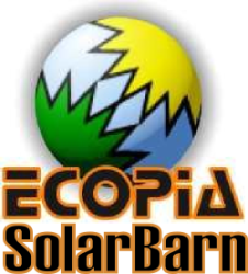 Visit Ecopia SOLARBARN for 12 volt solar panels, solar regulators and LED lights